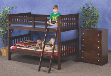 Donco 120C  Twin Size Bunk Bed