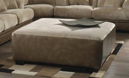 Jackson Furniture 44422826 Contemporary Fabric/Faux Leather Ottoman