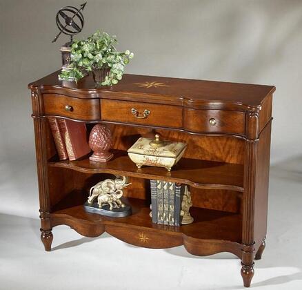 Butler 1654024Plantation Cherry Series Wood 2 Shelves Bookcase