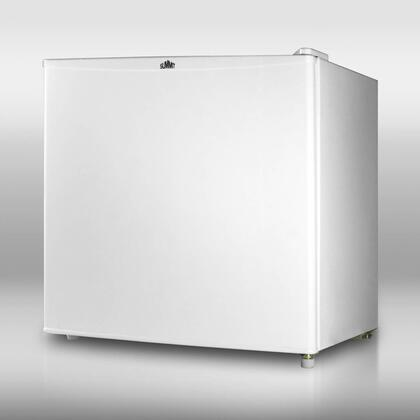 Summit S19R  Compact Refrigerator with 1.7 cu. ft. Capacity in White