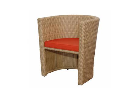 Anderson SR-021 3pc Space Saver Barcelona Rattan Wicker Dining Table Set