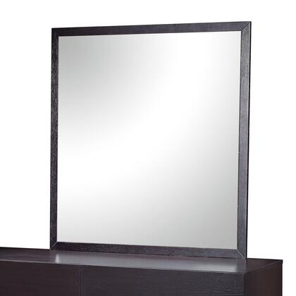 Global Furniture USA METROCHOCM Metro Series Rectangular Portrait Mirror