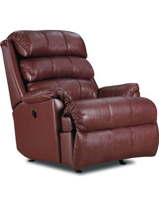 "Lane Furniture Revive Collection 11958P/23-xx/5123-xx 38"" Power Zero Gravity Rocker Recliner with Leather Upholstery, Stitched Detailing, Plush Padded Arms and Casual Style in"