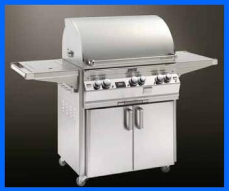 FireMagic E660S2L1P63W Freestanding Grill, in Stainless Steel