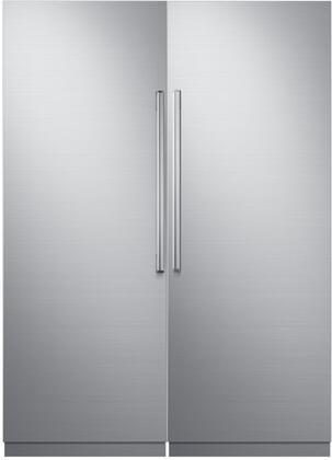 Dacor 742756 Modernist Side-By-Side Refrigerators