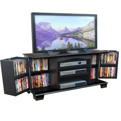 Walker Edison W60C73 60 Inch Jamestown Wood TV Stand