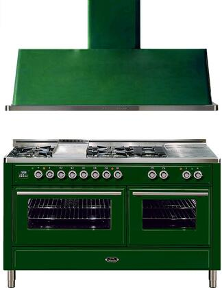 Ilve 721635 Majestic Techno Kitchen Appliance Packages