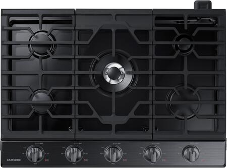 """Samsung NA30K6550T 30"""" Gas Cooktop with 5 Sealed Burners, Illuminated Knobs, Aluminum Griddle and Wifi, in"""