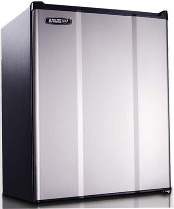 """MicroFridge 2.3MF 19"""" Compact Refrigerator with 2.3 cu. ft. Capacity, Safe Plug Technology, Easy-Grab Beverage Holder, Automatic Defrost, Smart Store Door and Door Storage, in"""