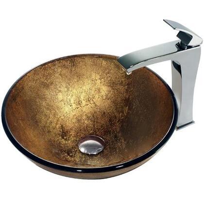 Vigo VGT140 Chrome Bath Sink