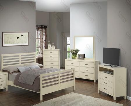 Glory Furniture G1290CKB2CHDMTV G1290 King Bedroom Sets