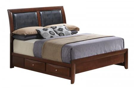Glory Furniture G1525DKSB2  King Size Storage Bed