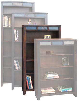 Legends Furniture FC6660DNCFire Creek Series Wood 4 Shelves Bookcase