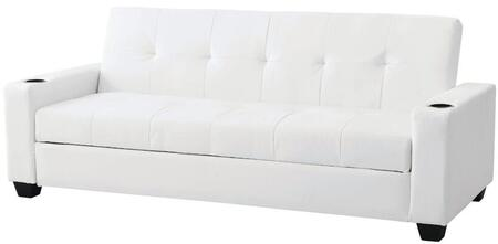 Glory Furniture G174S Buxton Series Convertible Faux Leather Sofa
