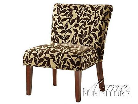 Acme Furniture 10071 Kerani Series Accent Chair Fabric Accent Chair