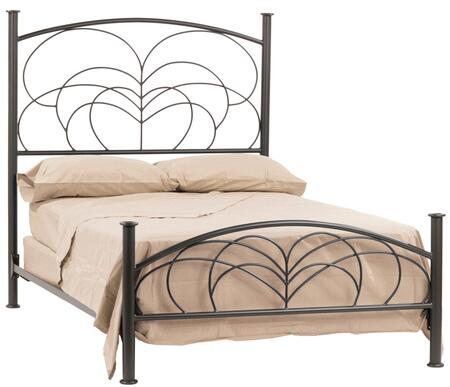 Stone County Ironworks 902075  King Size HB & Frame Bed