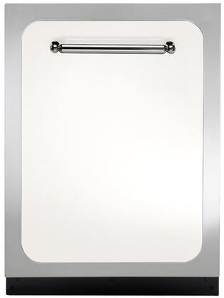 "Heartland HCTTDWWHT 24"" Classic Series Built In Fully Integrated Dishwasher with 15 Place Settings Place Settingin White"