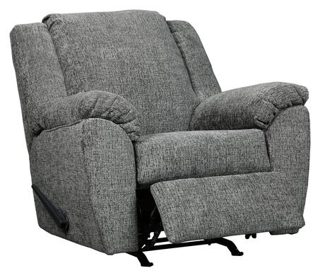 """Signature Design by Ashley Azaline Collection 9320X25 40"""" Rocker Recliner with Pillow Top Arms and Fabric Upholstery in"""