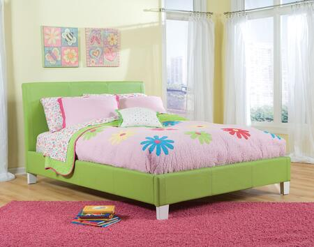 Fatasia Green Full Sized Bed