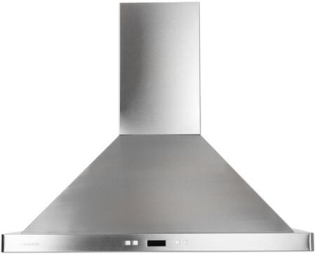 Cavaliere 218 SV218B2-I Island Range Hood With 900 CFM, Touch Sensitive LED Control Panel, Three Aluminum Six Layer Grease Filters, Dishwasher Safe, 6 Speed Levels with Timer Function In  Stainless Steel