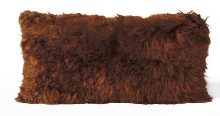 ALPACA CUSHION 11X22 COPPER