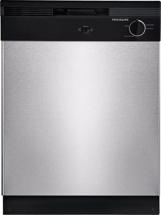 "Frigidaire FBD2400KS 24"" Built In Full Console Dishwasher with 12 Place Settings Place Settingin Stainless Steel"