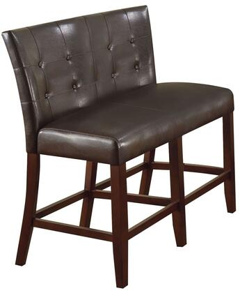 Acme Furniture 07252 BRAVO Series Transitional Leather Wood Frame Dining Room Chair