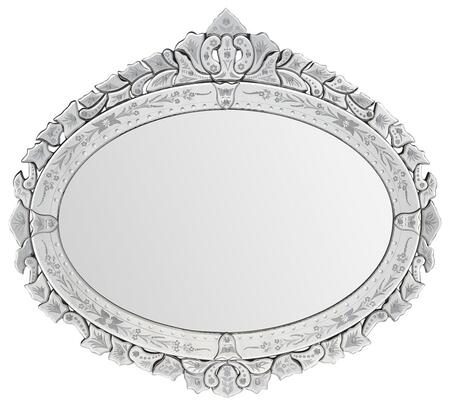 Ren-Wil MT1228  Oval Landscape Wall Mirror