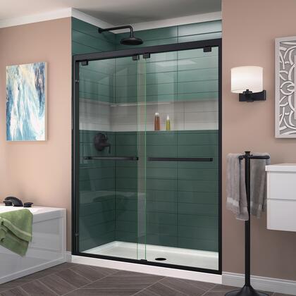 DreamLine Encore Shower Door RS50 09 B CenterDrain