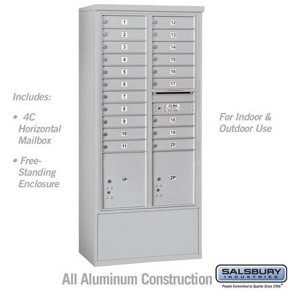 Salsbury Industries 3916D 20AFU f