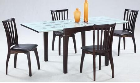 Chintaly CHANTEL5PIECESET Chantel Dining Room Sets