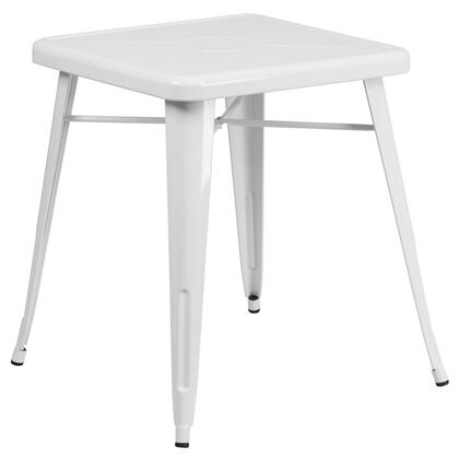 "Flash Furniture CH3133029WHGG 27.75"" Bistro Table"