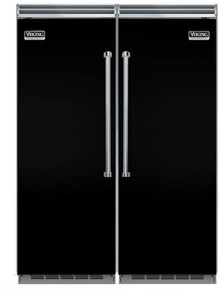 Viking 734340 5 Side-By-Side Refrigerators
