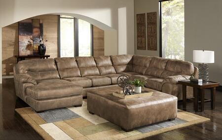 """Jackson Furniture Grant Collection 4453-75-30-72- 159"""" 3-Piece Sectional with Left Arm Facing Chaise, Armless Sofa and Right Arm Facing Section with Corner in"""