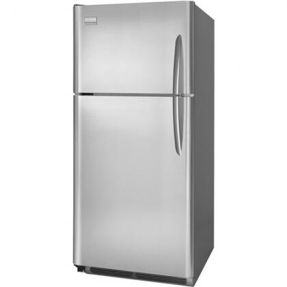 Frigidaire FGHT2146KR Gallery Series Freestanding Top Freezer Refrigerator with 20.61 cu. ft. Total Capacity 4 Glass Shelves 5.26 cu. ft. Freezer Capacity