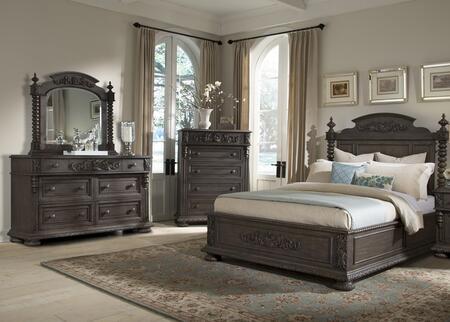 Klaussner 980066DMC Versailles King Bedroom Sets