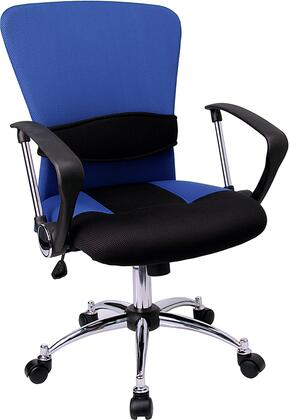 "Flash Furniture LFW23BLUEGG 23.75"" Contemporary Office Chair"