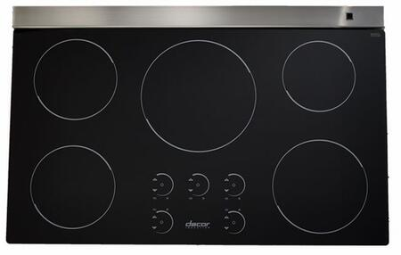 "Dacor RNCT365B 36"" Renaissance Series 5 Element Yes Cooktop, in Black"
