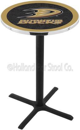 """Holland Bar Stool L211B42 42"""" Black Wrinkle Pub Table"""