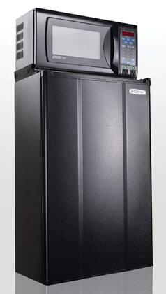 """MicroFridge 36MFAE7TP 19"""" Compact Refrigerator with 3.6 cu.ft. Capacity in Black"""