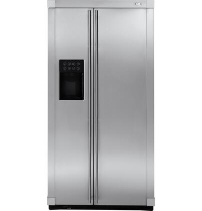GE Monogram ZFSB23DRSS Monogram Series Side by Side Refrigerator with 22.6 cu. ft. Capacity in Stainless Steel