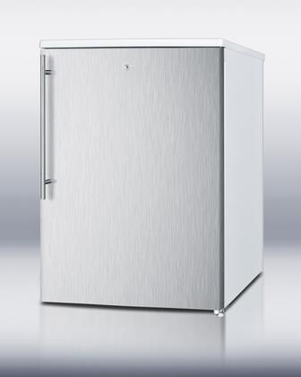 Summit FSM50LESSSHV  Freezer with 4.4 cu. ft. Capacity in White