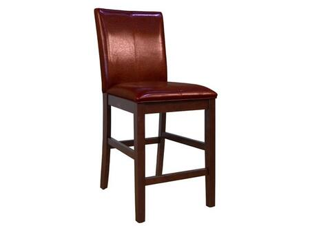 AAmerica PRSES322K Parson Series Residential Leather Upholstered Bar Stool