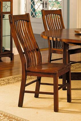 AAmerica LAUOA275K Laurelhurst Series Contemporary Not Upholstered Solid Oak Frame Dining Room Chair