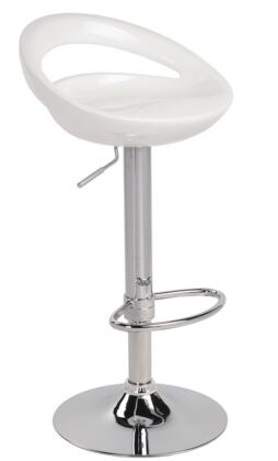 LumiSource BSTWSWZLW Swizzle Series Residential Not Upholstered Bar Stool