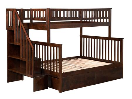 Atlantic Furniture AB56744  Twin over Full Size Bunk Bed