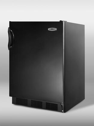 Summit SCFF55BAL  Counter Depth Freezer with 5 cu. ft. Capacity in Black