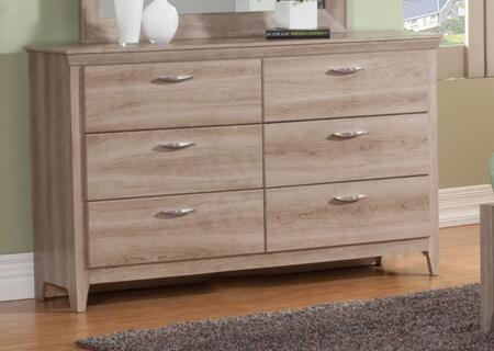 Sandberg 34306 Serina Series Wood Dresser |Appliances Connection