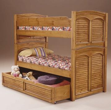 American Woodcrafters 650033BNK  Twin Size Bunk Bed