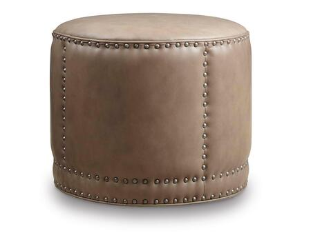 Hooker Furniture CO389-0 Aspen Series Traditional-Style Living Room Round Cocktail Ottoman